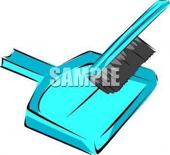 Hand Broom and Dustpan.