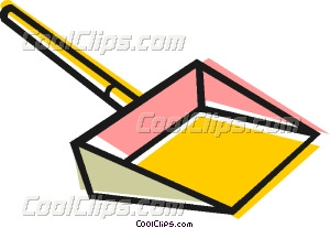 Dustpan Vector Clip art.