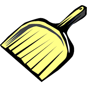 Dust Pan Clipart.