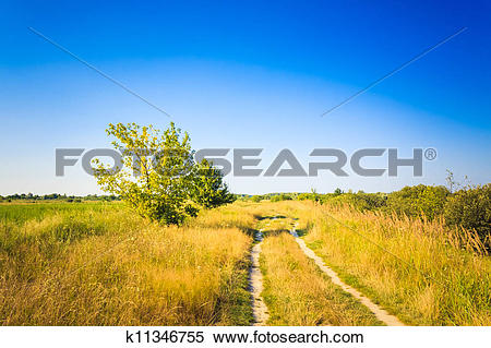 Stock Image of Dusty road k11346755.