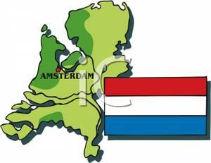 With Dutch Flag.