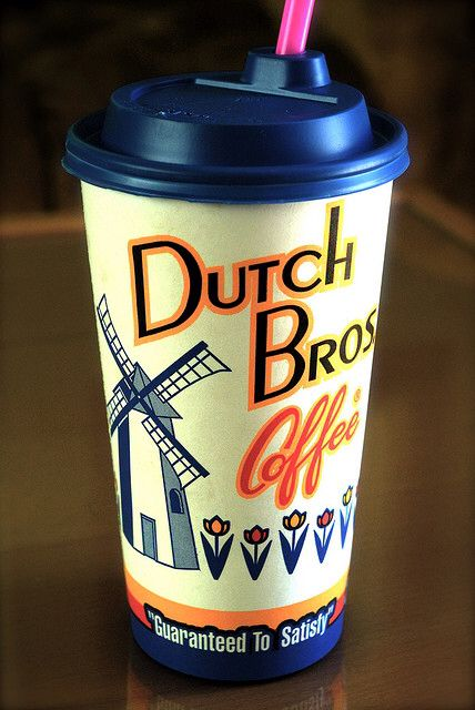 Dutch Brothers Coffee Clip Art.