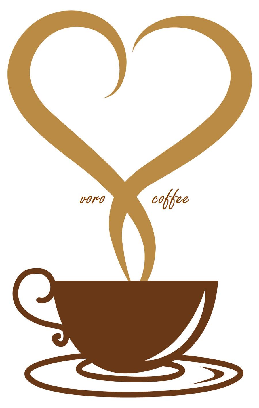 Dutch coffee logo and label.