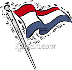 Flag of the Netherlands.