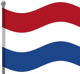 Netherland flag clipart.