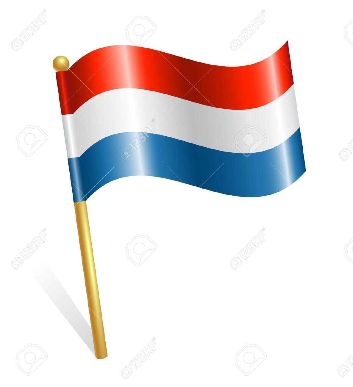 Holland flag clipart.