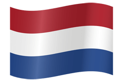 The Netherlands flag clipart.