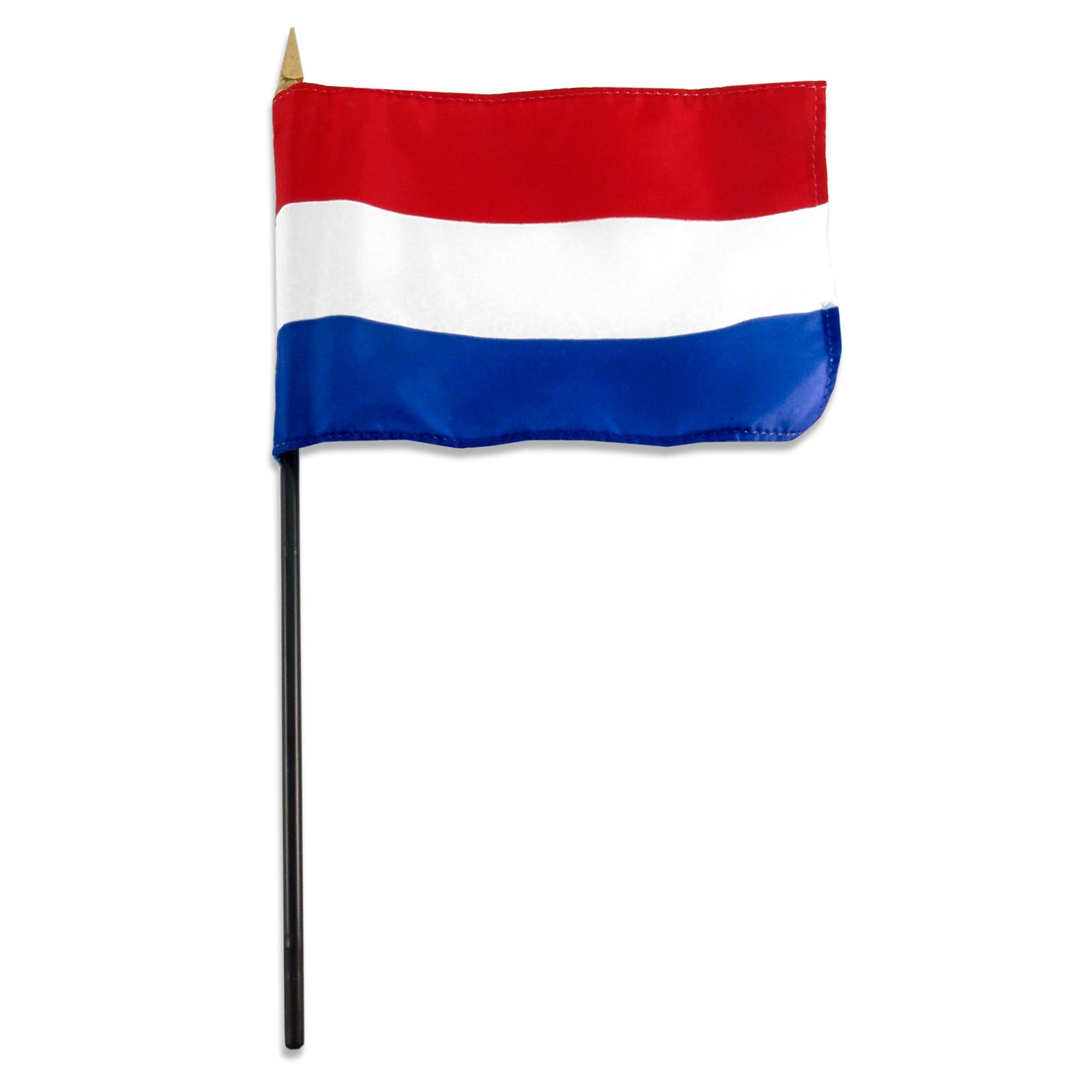 Dutch Flag Clip Art.