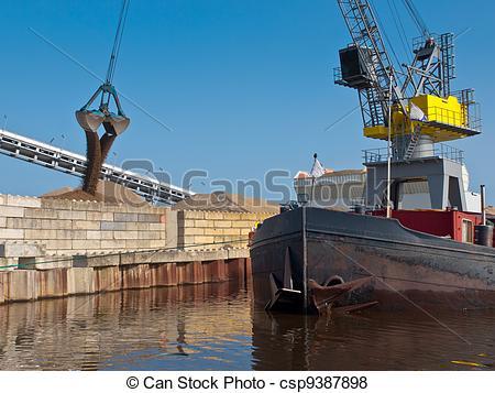 Pictures of Dutch harbor scene.
