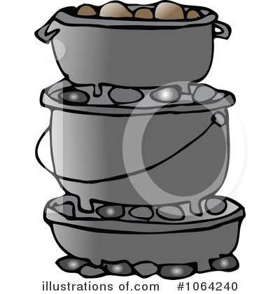 Dutch Oven Clipart.