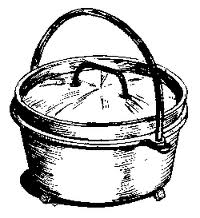 Dutch oven clipart free.