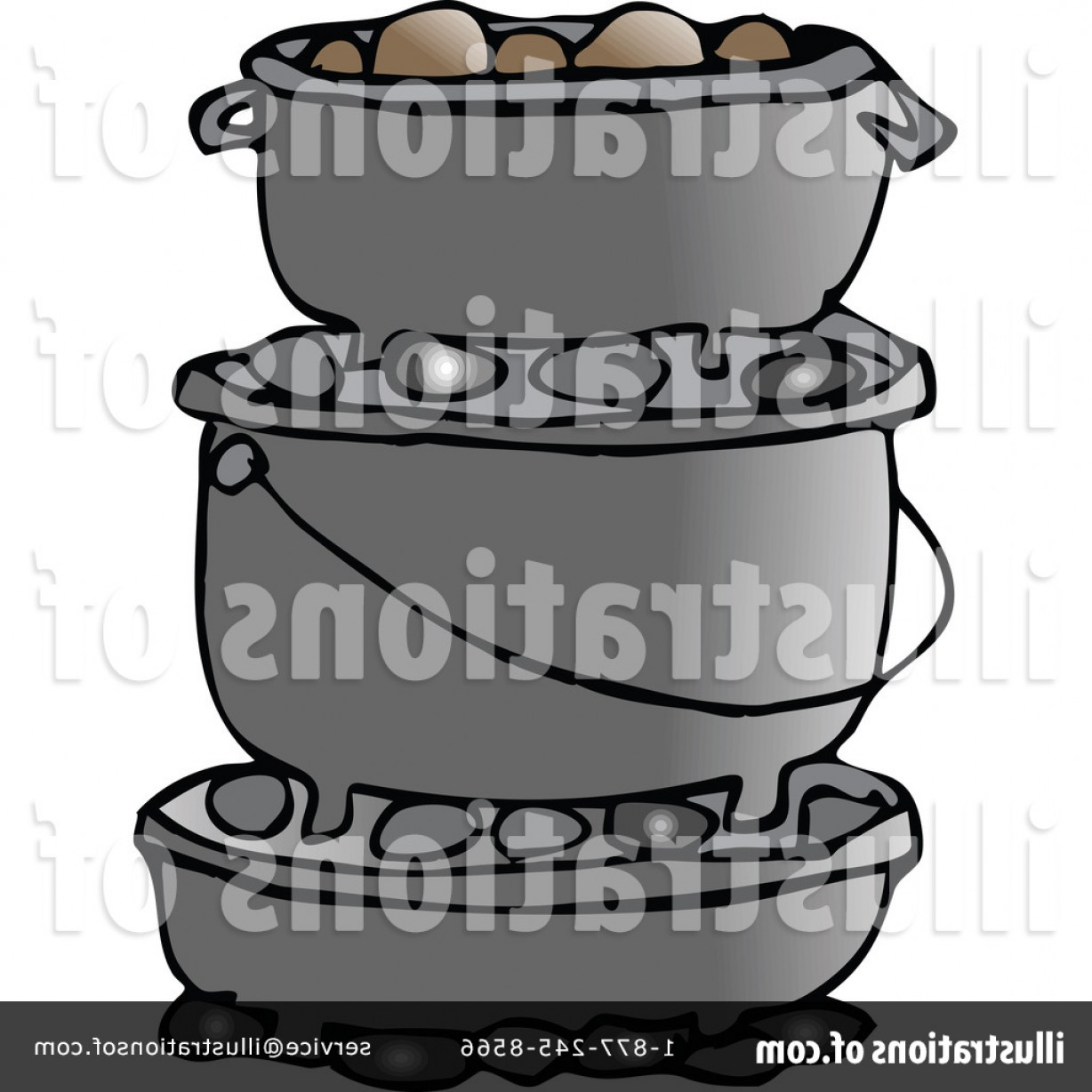 Free Royalty Free Dutch Oven Clipart Illustration Design.