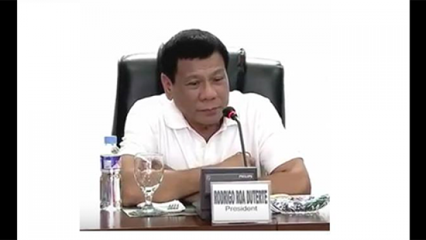 Not angry: Duterte tells media to criticize him if he does wrong.