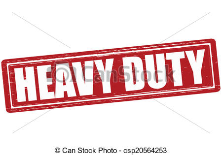 Clipart Vector of Heavy duty.