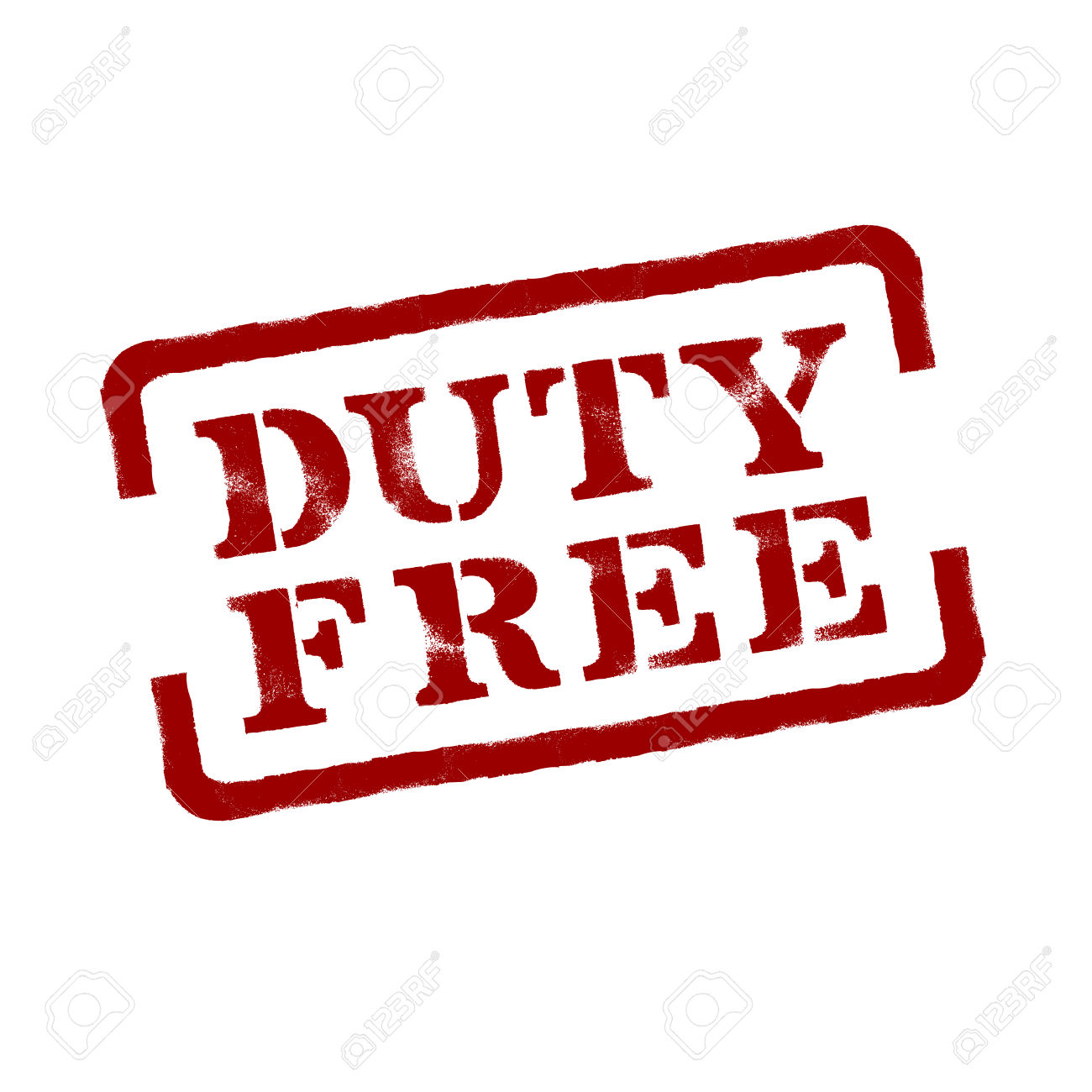 Duty free clipart.