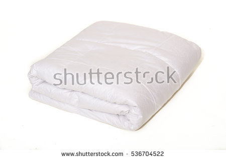 White Quilt Stock Photos, Royalty.