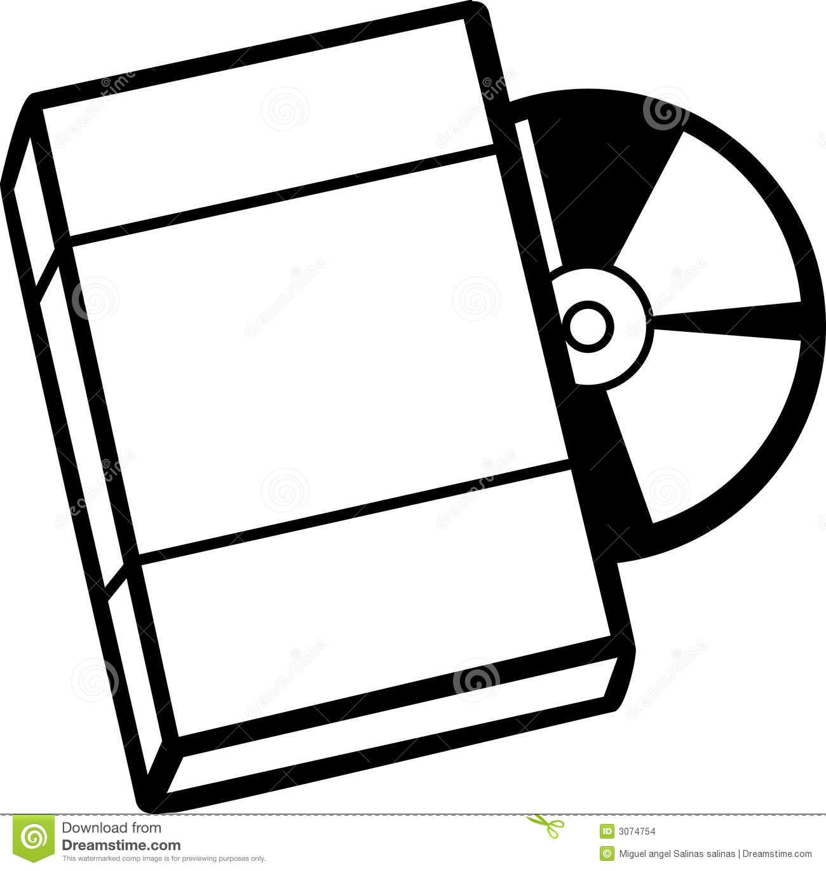 Dvd box clipart.