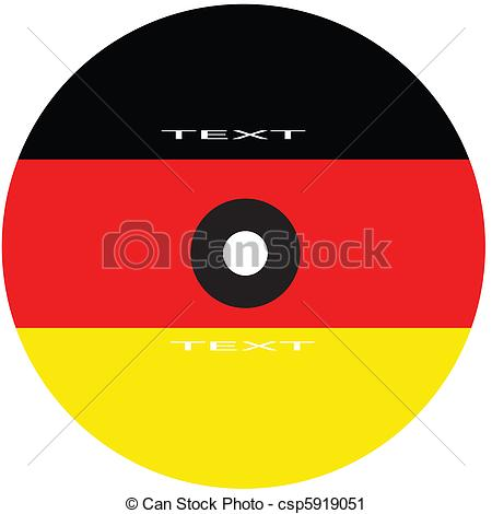 Vector Clip Art of dvd cover germany.