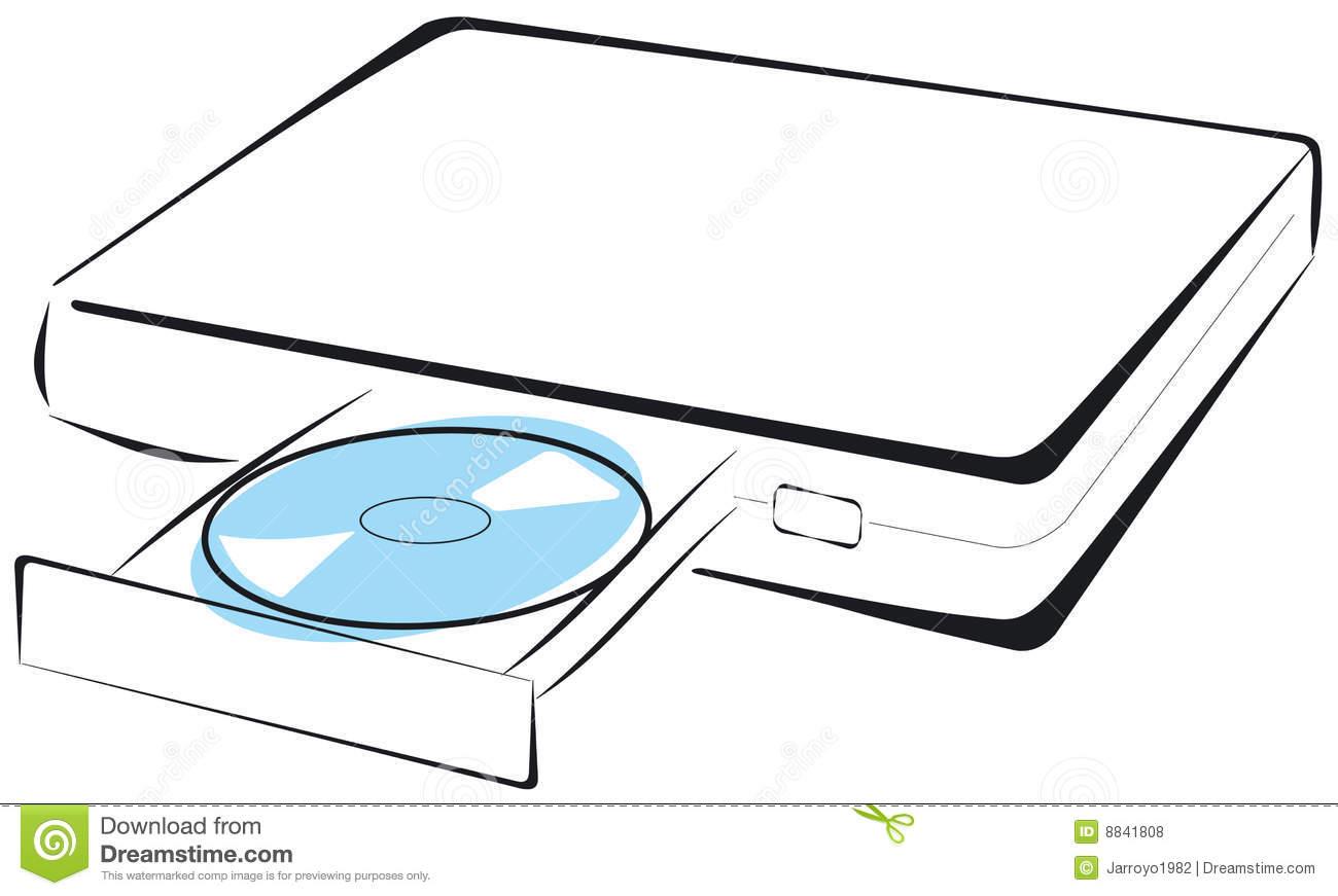 Dvd Player Clipart.