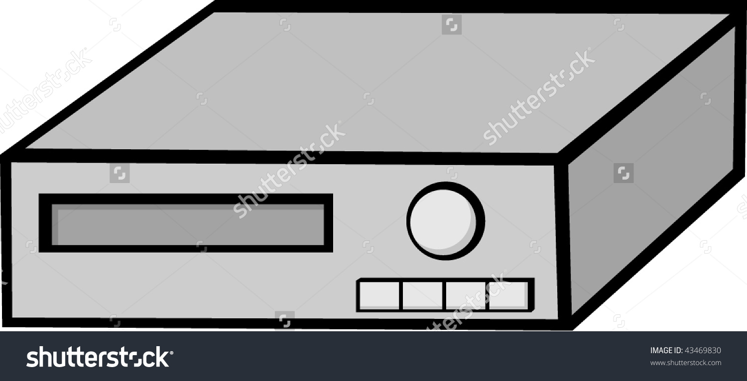VCR and DVD Clip Art.