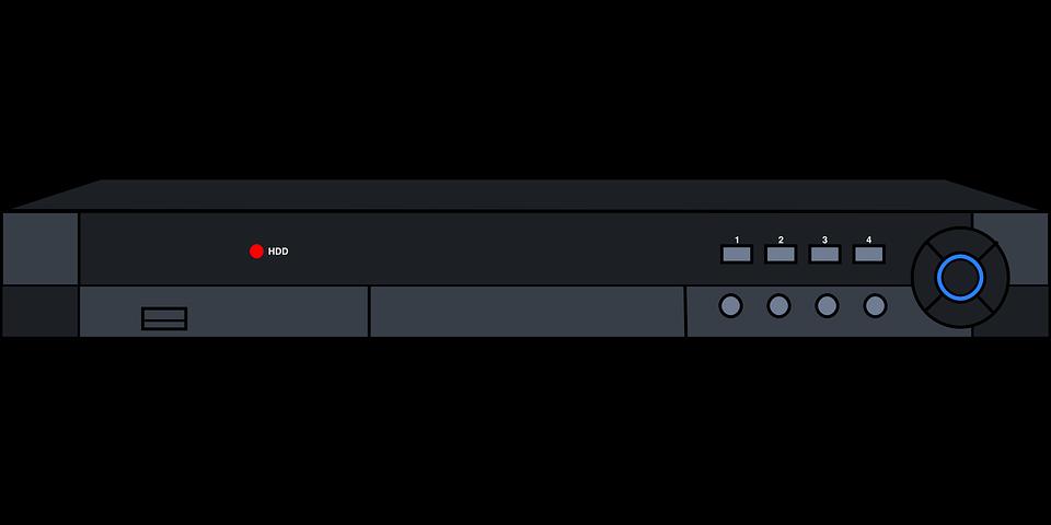Free vector graphic: Vcr, Video, Recorder, Record, Tv.
