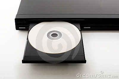 DVD Player Royalty Free Stock Image.