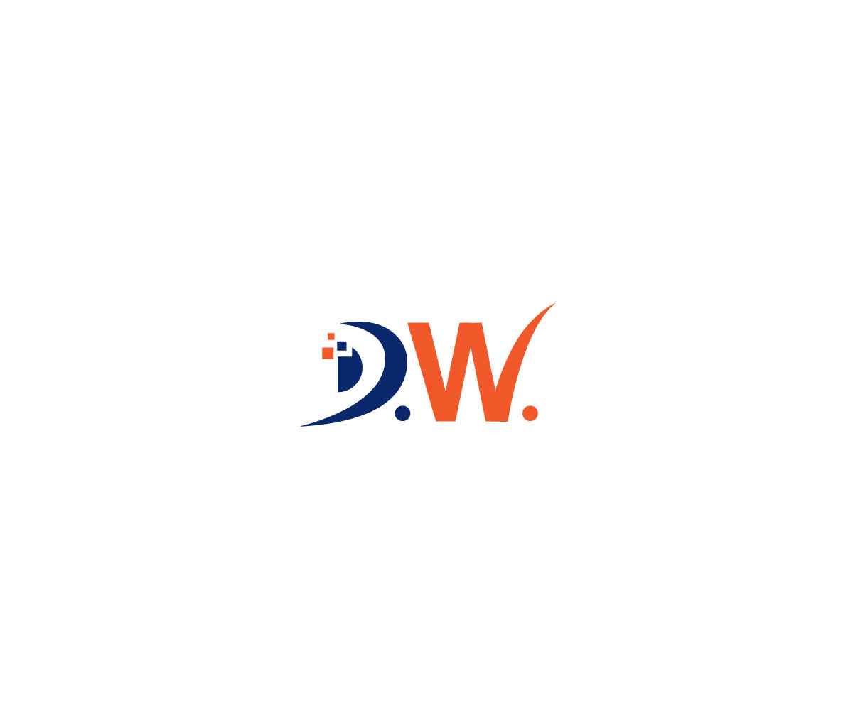 Bold, Serious, Business Logo Design for d.w. by Ben Roots.