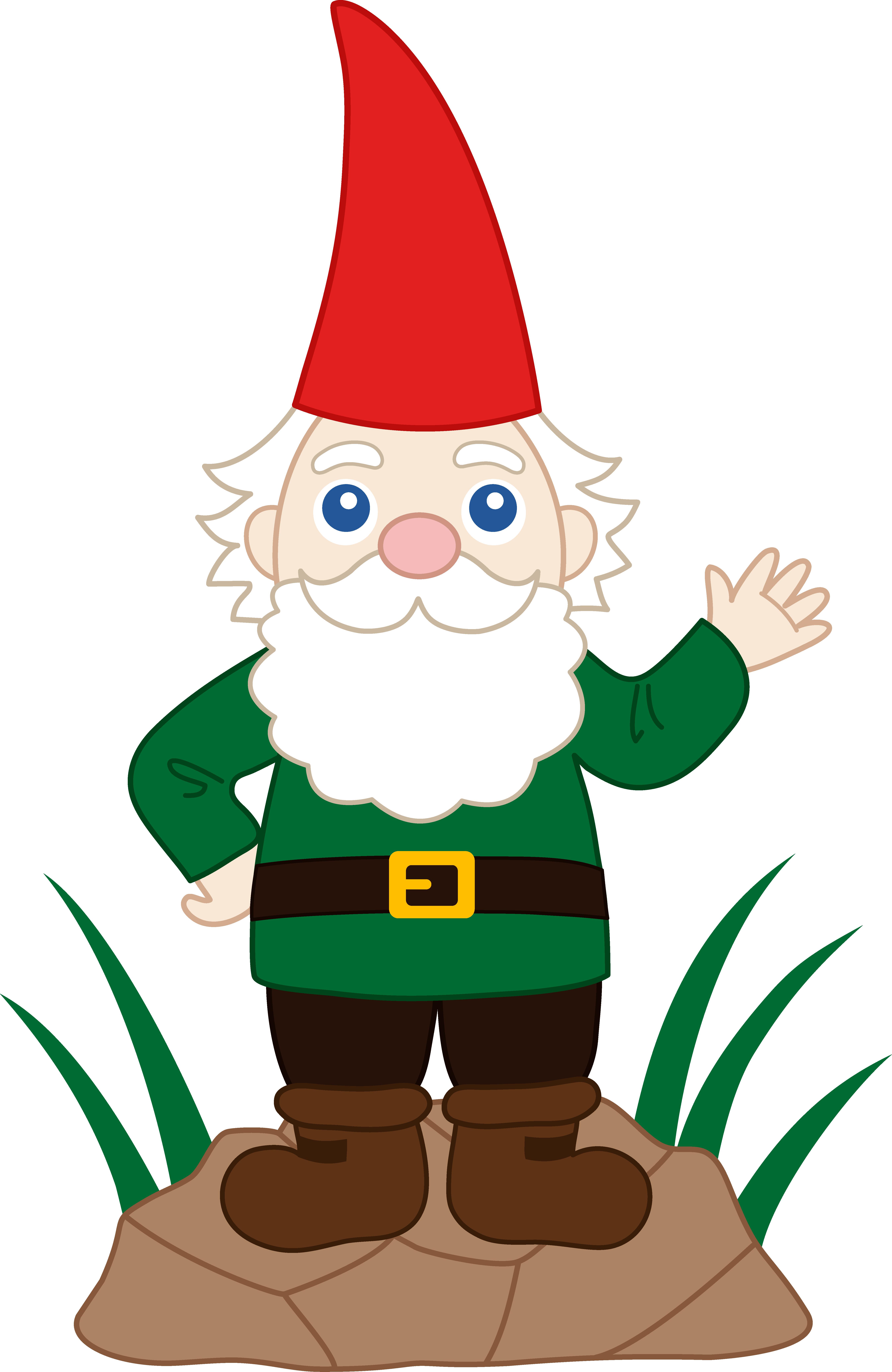 Cute Girl Gnome Clipart Clipground