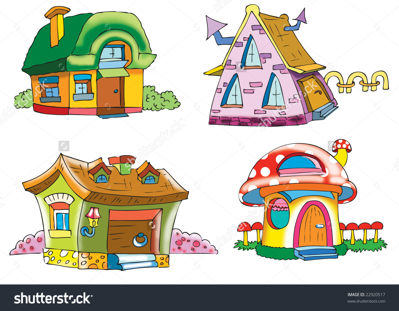Dwarfs House Stock Illustration 22920517.