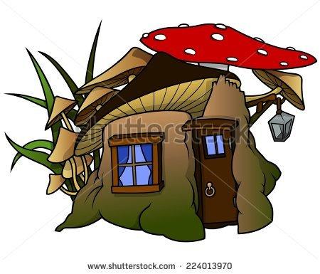 Dwarf House Stock Vectors & Vector Clip Art.