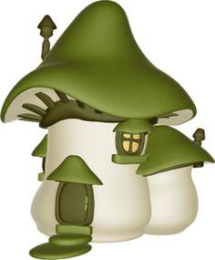 Fairy house clipart.