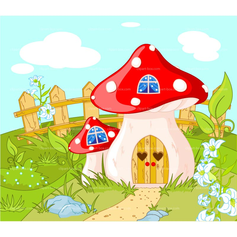 CLIPART GNOME HOUSE.