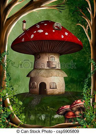 Stock Illustration of dwarf land 2.