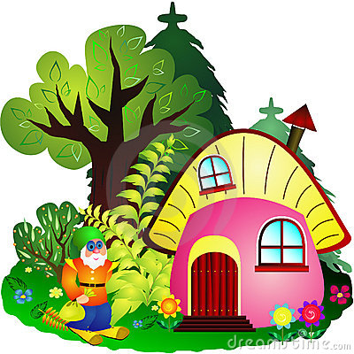 Dwarf House Cartoon Stock Photos, Images, & Pictures.