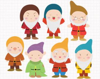 dwarfs clip art.