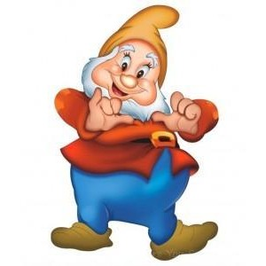 Snow white and the seven dwarfs clipart.