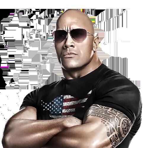 Dwayne Johnson The Rock PNG Image.