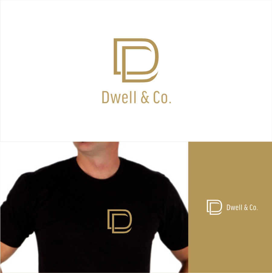 Professional, Bold, Real Estate Logo Design for Dwell & Co.