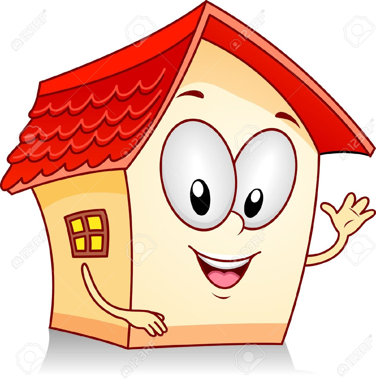 cartoon clipart of houses - photo #48