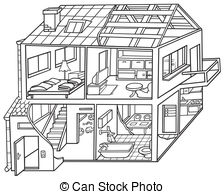 Dwelling house Vector Clipart EPS Images. 3,208 Dwelling house.