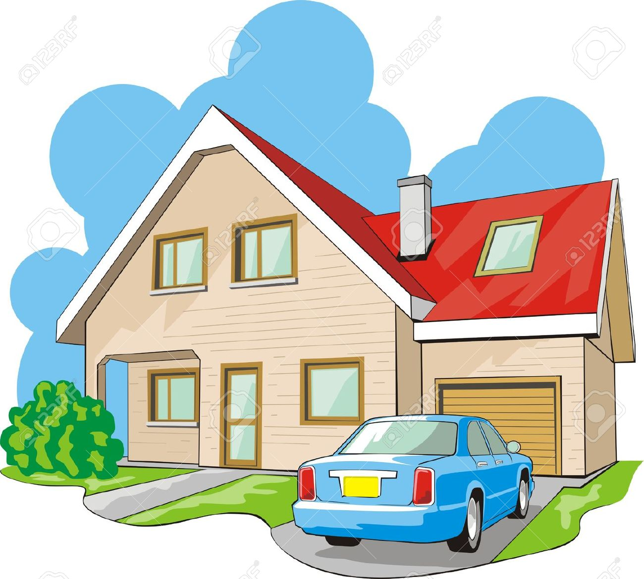 clipart garage dwelling property transfer divorce story during clipground illustration clip cliparts law