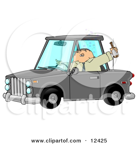 Drunk car clipart.