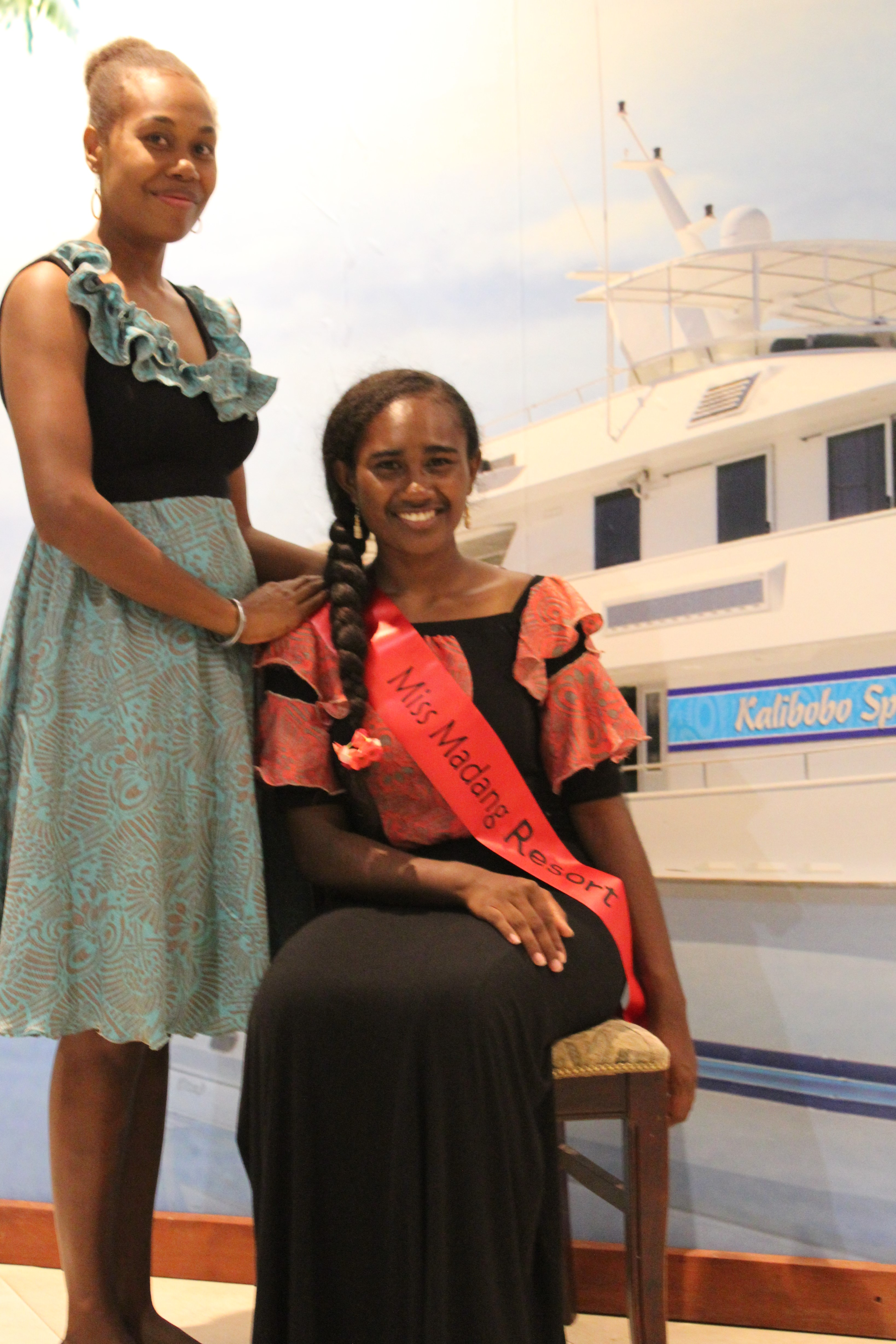 MISS MADANG RESORT HOTEL ENTERS MISS PACIFIC PNG PAGEANT.