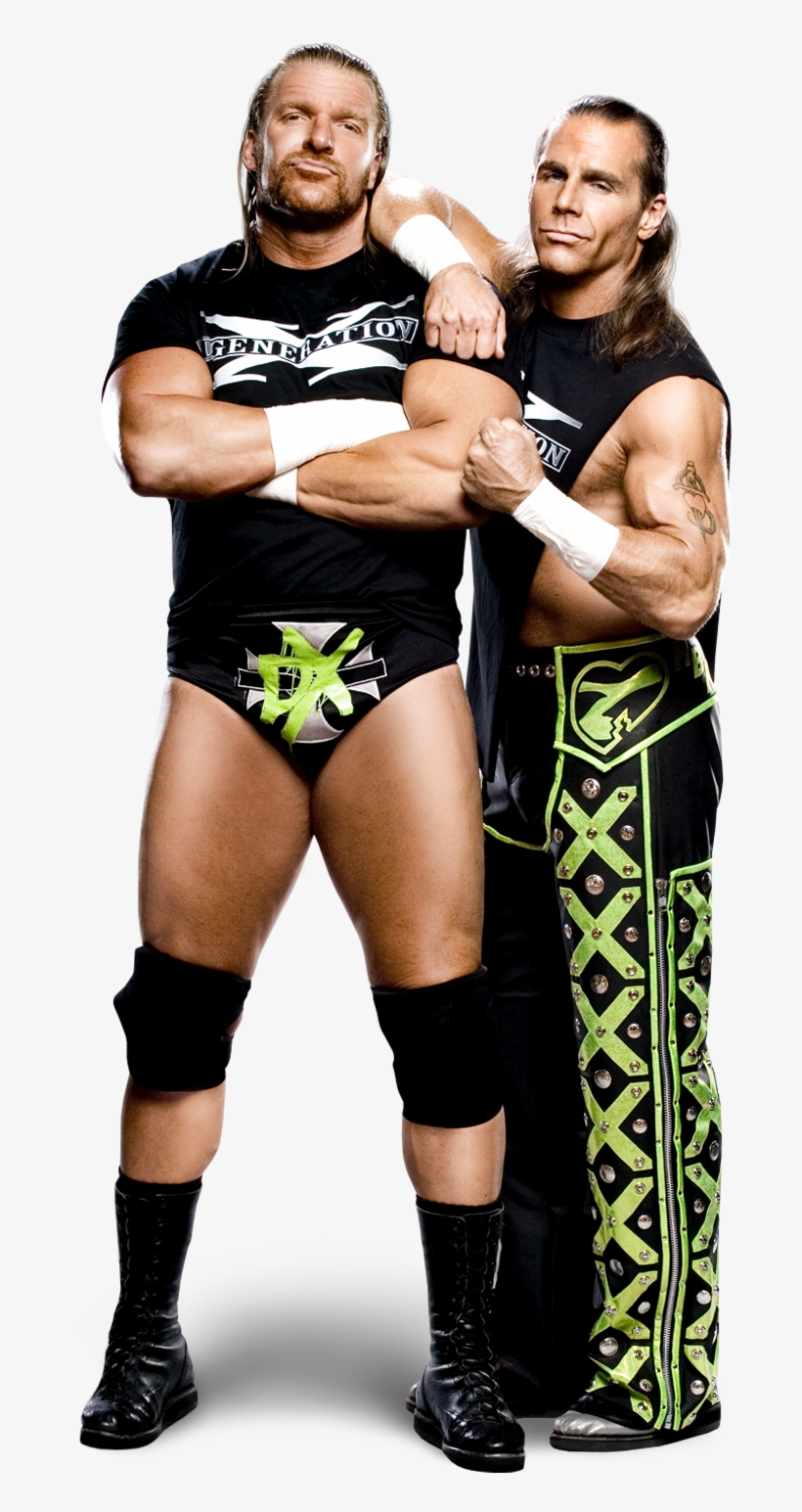 Shawn Michaels And Triple H Dx.