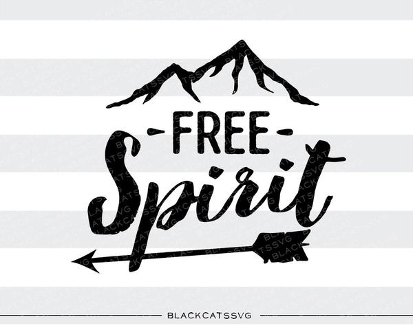 Free spirit SVG file Cutting File Clipart in Svg, Eps, Dxf, Png for Cricut  & Silhouette.