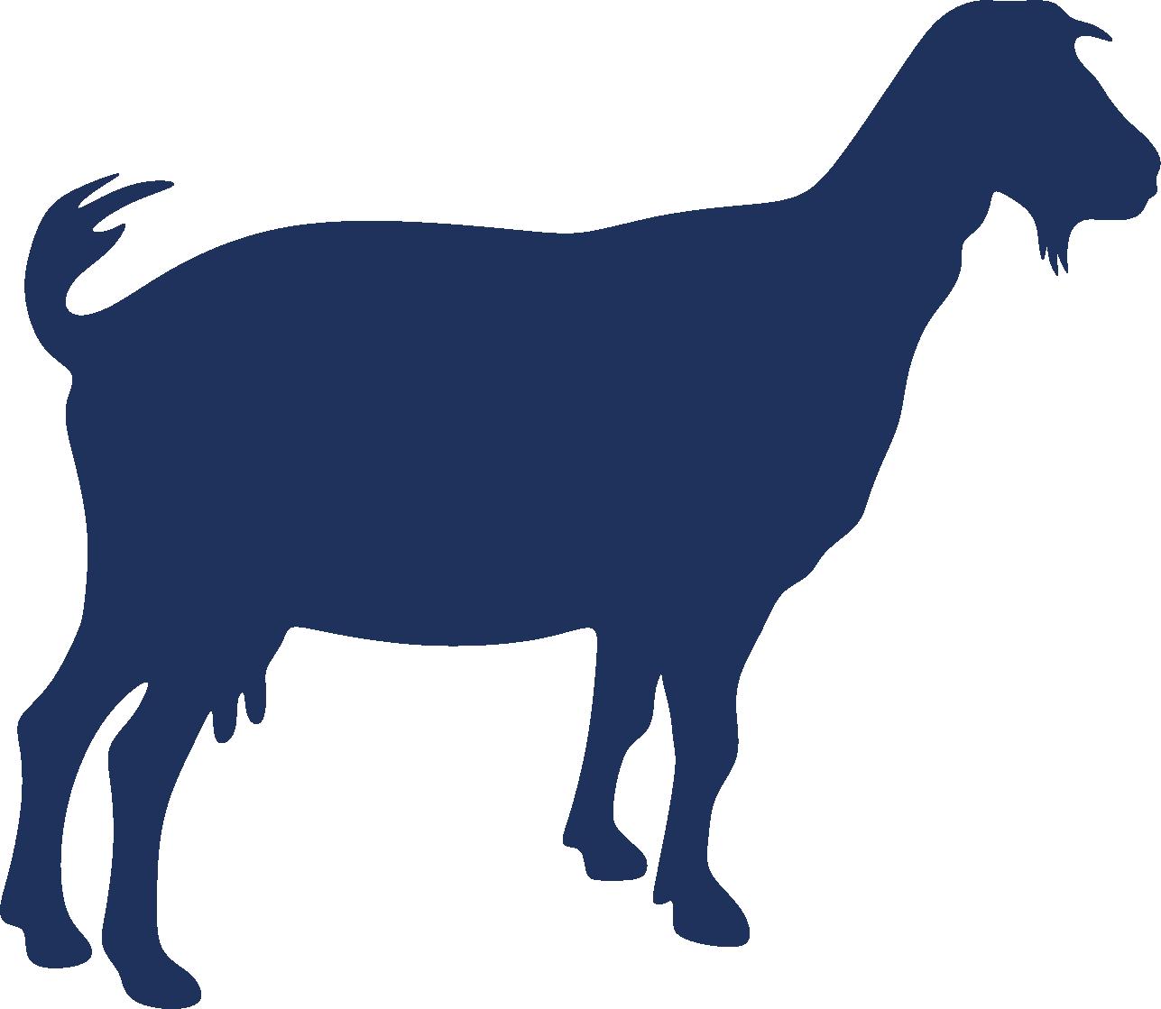 Boer goat AutoCAD DXF Clip art.