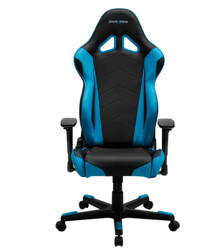 DXRACER Racing Series OH/RE0/NB Blue Gaming Chair.