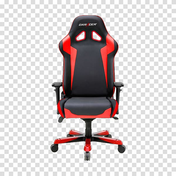 Gaming chair Office & Desk Chairs DXRacer, chair transparent.