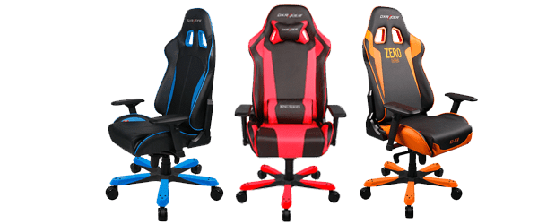 Dx Racer Chairs transparent PNG.