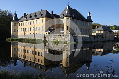Castle Dyck, Germany Royalty Free Stock Photos.